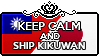 Keep Calm and Ship KikuWan by xioccolate