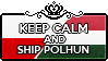 Keep Calm and Ship PolHun by xioccolate