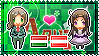 APH: Male!Hungary x Fem!Austria Stamp by xioccolate