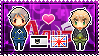APH: Prussia x England Stamp by xioccolate