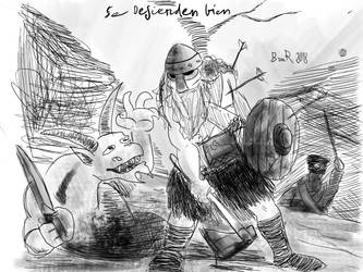 Se defienden bien by FlanderPoisson1914