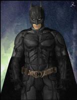 Batman (TDKR) by SpideyVille