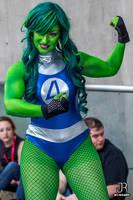 NYCC 2013 - She-Hulk by SpideyVille