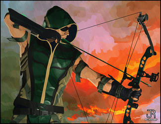 Green Arrow (Retouched) by SpideyVille