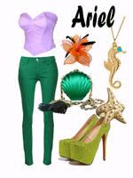 Disney Fashion: Ariel (Mermaid) by EvilMay