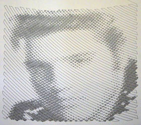 Elvis Presley (As drawn by my robot) by Briant1996