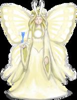 Legend of Zelda Great Fairy Of Flame by NIN-Neko