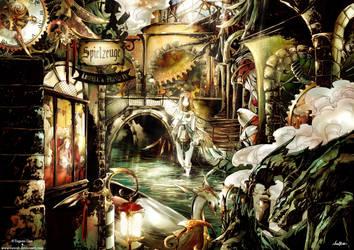 +Karnival Gate :: Black Eagle Street+ by VanRah