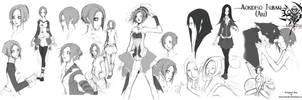 :: Stray Dog - Study of Character 01 : Aki :: by VanRah