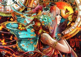 Comic Fiesta Countdown : Day 03 :: Time Fearies by VanRah