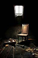 Attic chair by ZerberuZ