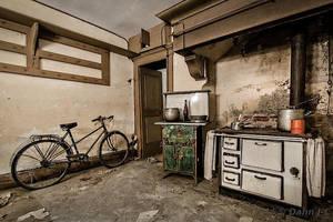 a kitchen by ZerberuZ