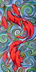 Psychedelic fish by federicocortese