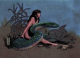 Serpent Lady by Wandermaske