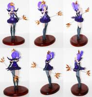 Elementalist Lux figure (Dark) by Lanasu57