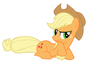 Suggestive Applejack by speedingturtle