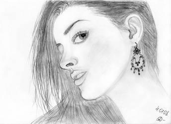 anne hathaway by tricksy-alex