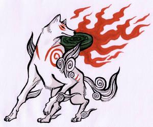 Amaterasu by Splapp-me-do