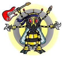 Robot Ninja Hornet by Splapp-me-do