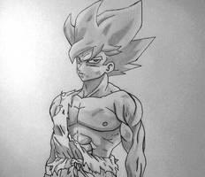 Super Saiyan Goku by DinaValentine