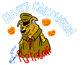 Rotfront celebrates Halloween by Vulkan-C