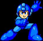 a Mega Pose for a Mega Man by MegaBoyX7