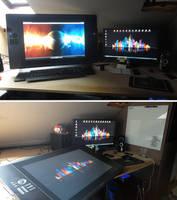My digital workspace by Namingway-Regret