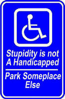 Handicap Parking by Rayfire