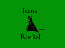Jesus Rocks by Rayfire