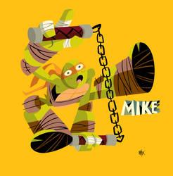 TMNT Mikey by sacks10