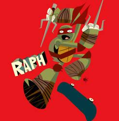 TMNT Raphael by sacks10