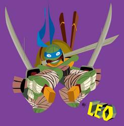 TMNT Leonardo by sacks10