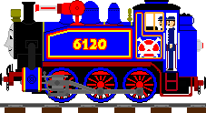 (AU Sodor) 0-6-0 Belle by Champ2stay