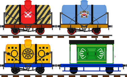 more Plarail rolling stock (free to use) by Champ2stay