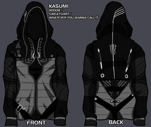 kasumi hoodie - give me your input! by theredshewolf