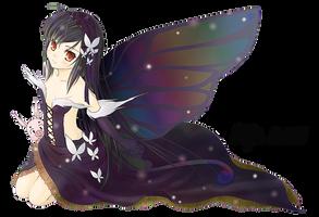 Accel World_Kuroyukihime_Render by Myk-2103