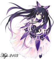 Date a Live Yatogami Tohka_Render by Myk-2103