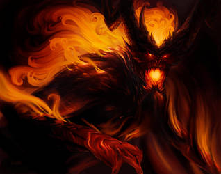 Shadow and Flame by Steves3511