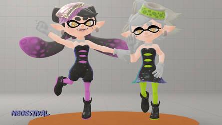 :Squid Sisters: (SFM Splatoon) by NeoEstival