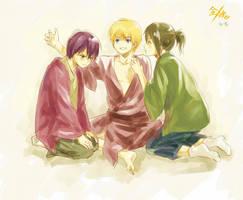 Kintama- Happy THREE Friends by Gin-Uzumaki