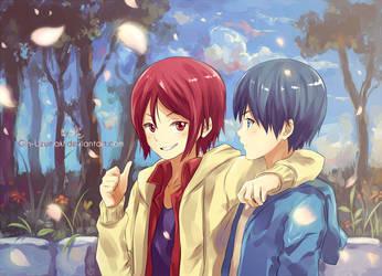 Free!- Swim together by Gin-Uzumaki