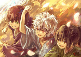 GINTAMA- Bokutachi (reworked) by Gin-Uzumaki