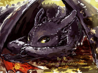 Toothless by Gin-Uzumaki