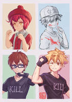 Cells at work- until the day we grow up by Gin-Uzumaki