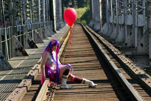 Stocking cosplay by BubblegumGirl22