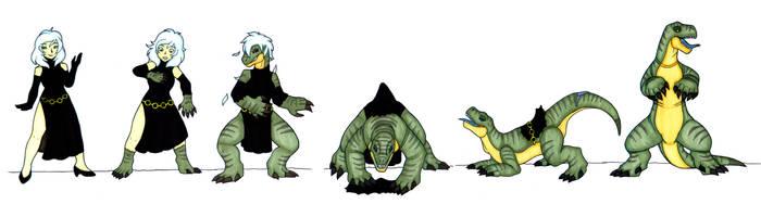 Felicia Hardy Feral Lizard TF by IvanksMW