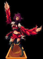 Flip Summon! Dragon Bloom  02 (Commission) by IvanksMW
