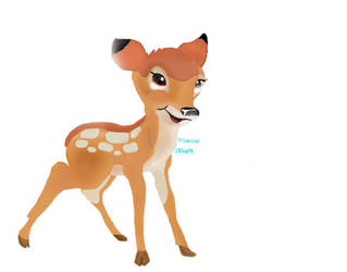 Bambi The Curious Deer by Ventuspowerbelive