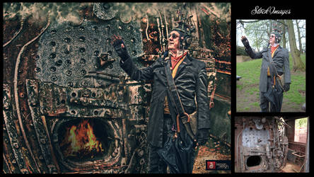 The Making: Meet Dr. Steampunker by teMan