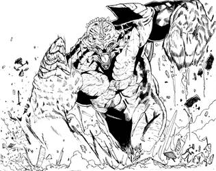 Kaiju by DonoArtz